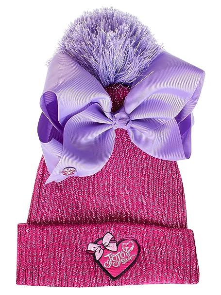 40f515a8db586 JoJo Siwa Girls Jo Jo Hat and Bow  Amazon.co.uk  Clothing