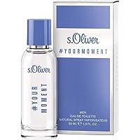 s. Oliver Your Moment Men. Eau de Toilette. 30 ml Natural Spray Vaporisateur.