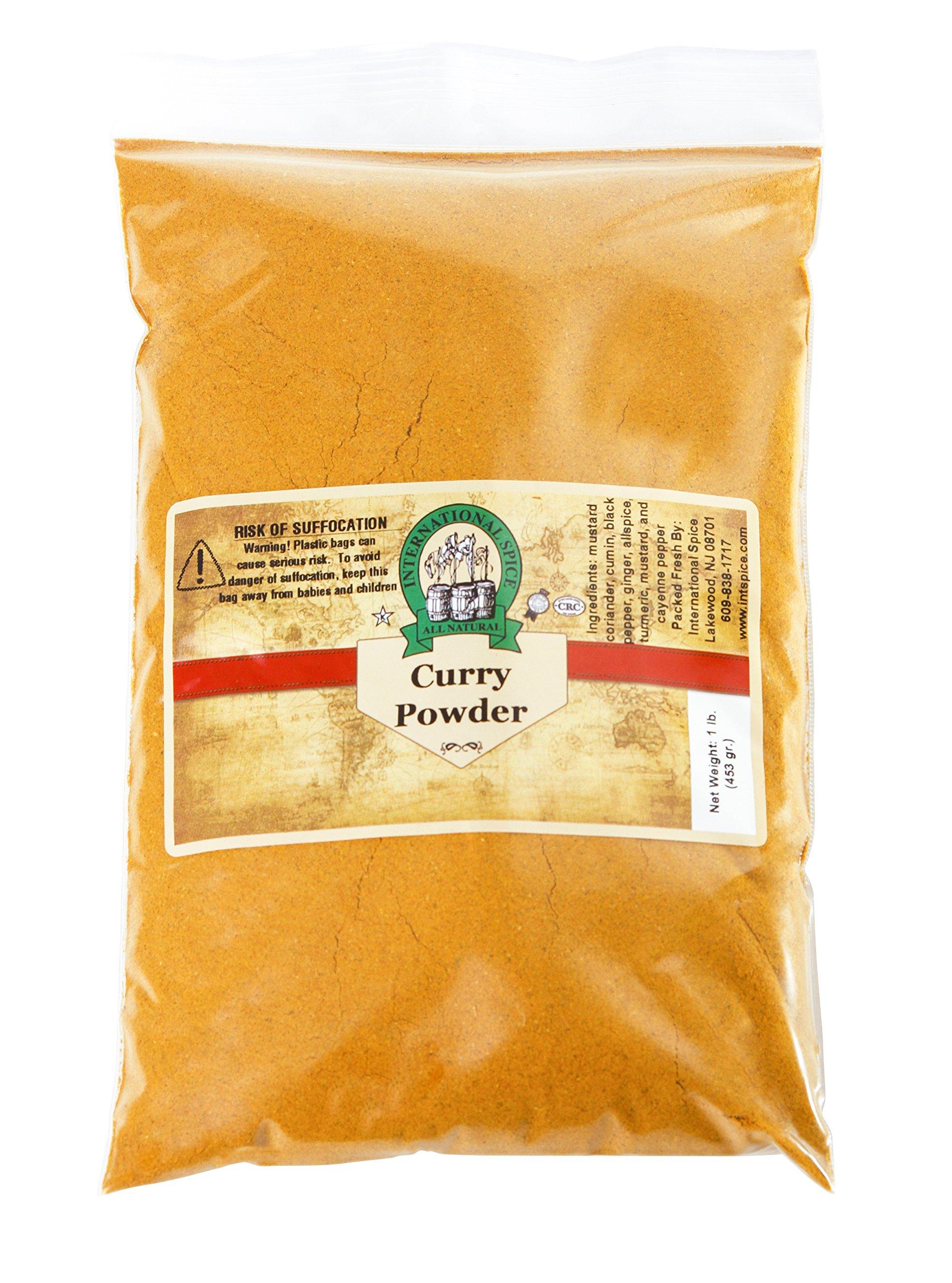 International Spice Premium Gourmet Spices- CURRY POWDER-: 16 OZ
