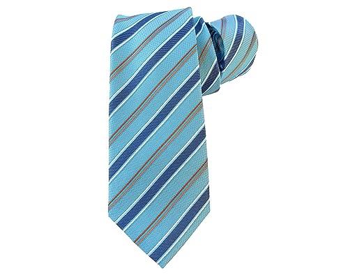 corbatas azul turquesa rayas corbatas de hombre verde turquesa a ...