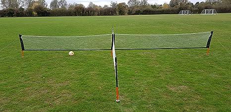 Portería de fútbol jardín meta solo-pro 8 pies x 5 pies no portátil ...