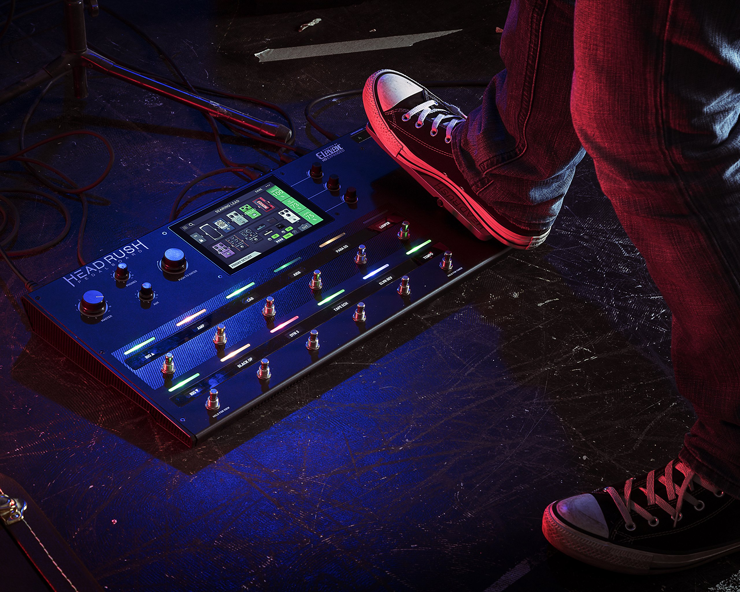 HeadRush Pedalboard | Guitar Amp and FX Modeling Processor by Head Rush (Image #6)