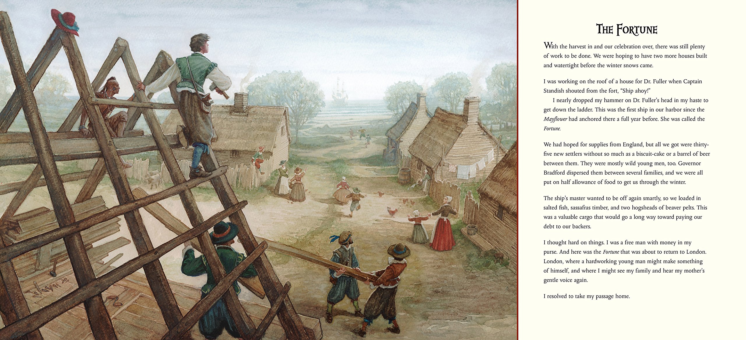 The Boy Who Fell Off The Mayflower, Or John Howland's Good Fortune: Pj  Lynch: 9780763665845: Amazon: Books