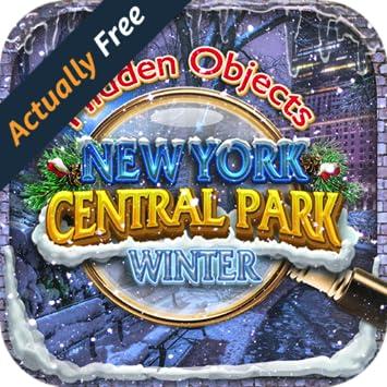 Hidden Object New York Central Park Winter