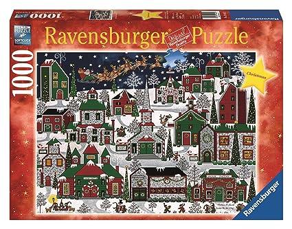 ravensburger americana christmas 1000 piece christmas puzzle - Ravensburger Christmas Puzzles