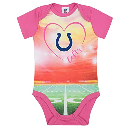 Image Unavailable. Image not available for. Color  NFL Indianapolis Colts  Baby-Girls Short-Sleeve Bodysuit ... b267a7d11