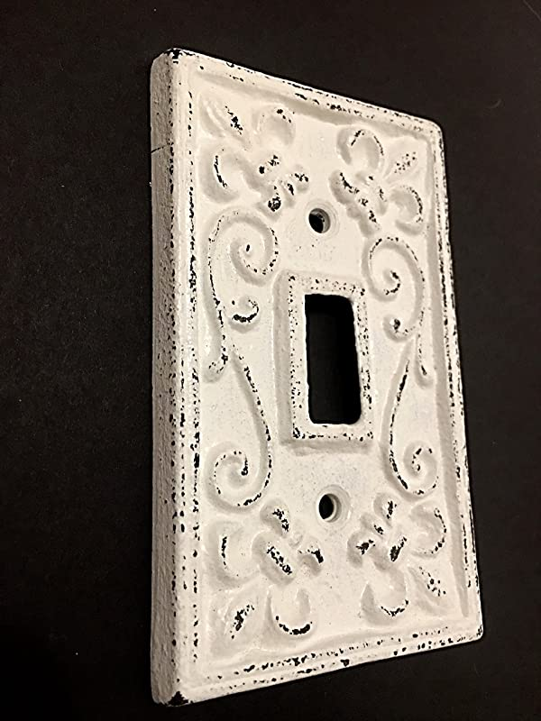 Amazon Com Cast Iron Decorative Single Light Switch Cover Shabby Chic Switch Plate Light Plate Pick Color Handmade