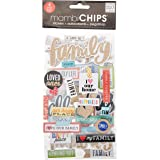 Me & My Big Ideas Chipboard Value Pack-I Love My Family