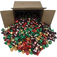 Taboom Holiday Chocolate Mix - Hershey's Miniatures, Hershey's Kisses, Kit Kat Mini, Reese's Peanut Butter and Rolo - Special Holiday Colors (5 Pounds)