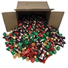 Taboom Holiday Chocolate Mix - 5 Pound Box of Hershey's Miniatures, Hershey's Kisses, Kit Kat Mini, Reese's Peanut Butter and Rolo - Special Holiday Colors