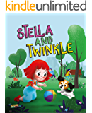 Stella and Twinkle: Children's Book About A Girl and her Puppy. A Cute Bedtime Story to Teach a Child about Taking care of Pets - Beautifully illustrated Story for Children Who Love Animals age 3 5