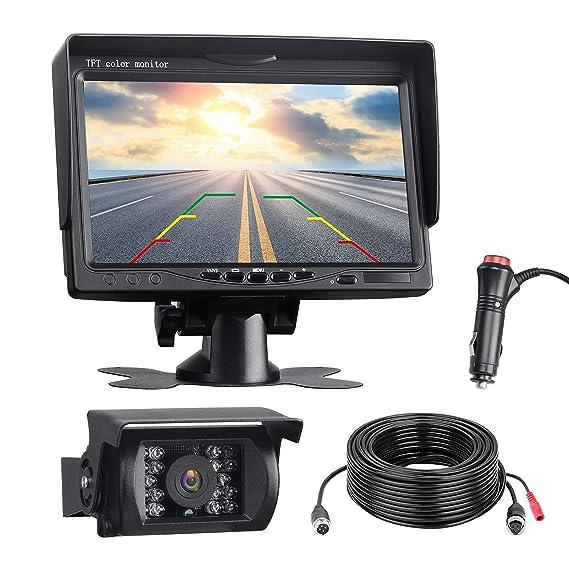 Magnificent Amazon Com Toguard Backup Camera Kit 7 Lcd Rear View Monitor Wiring 101 Israstreekradiomeanderfmnl