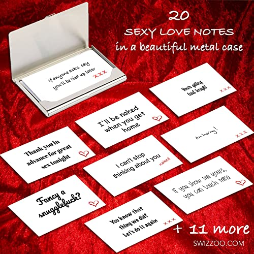 Sexy Love Notes With 20 Love Quotes And Messages In Polished Metal
