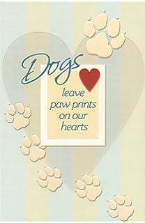 amazon com paw print tree christmas cards paw prints and dog bone
