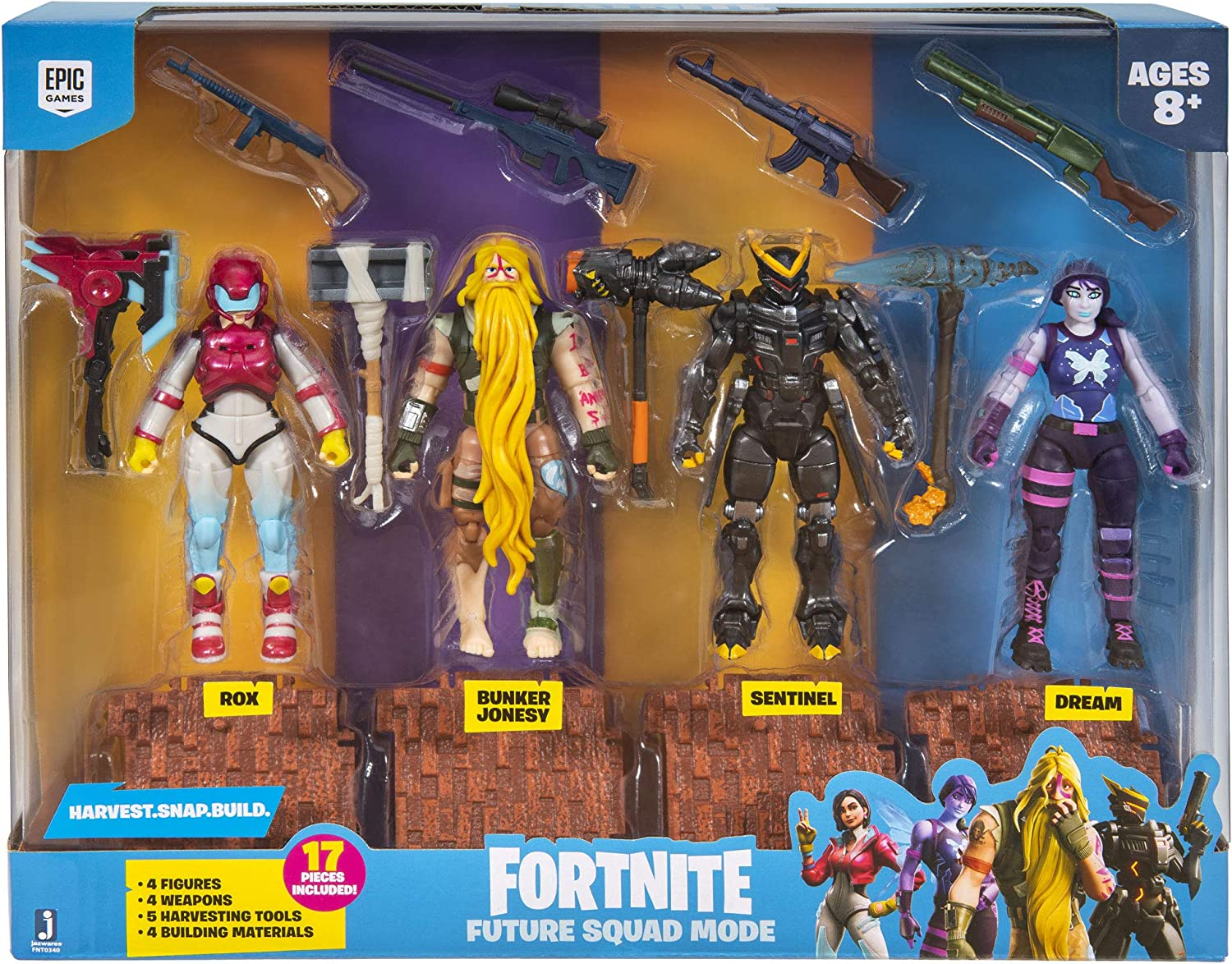 Jazwares 4 inch Fortnite checklist