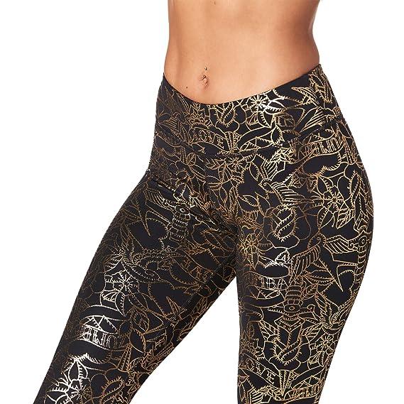 Zumba Mesh Compression Compression Danse avec Taille Large pour Femme XX-Grand  Noir Sauvage  Amazon.fr  Vêtements et accessoires 432599e9963