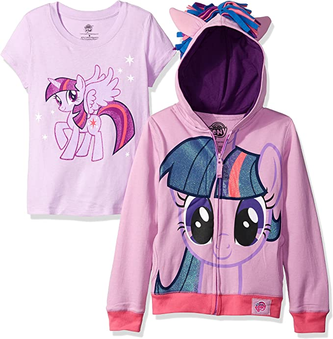 Amazon.com: My Little Pony Sudadera con capucha para ...
