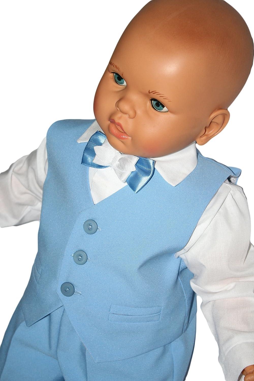 Kika Baby Boys\' Christening Suit 4-Piece: Amazon.co.uk: Clothing