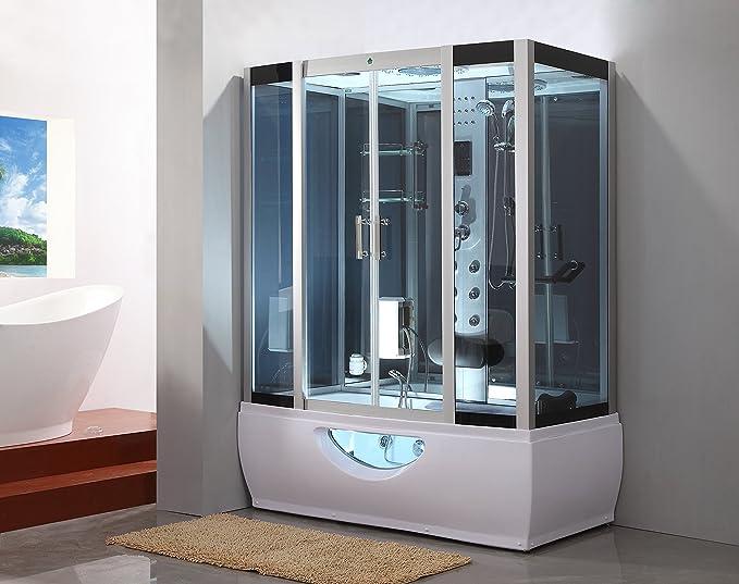 Kokss Steam Shower Room GT007 Whirlpool Tub 6 Body Massage Jets ...