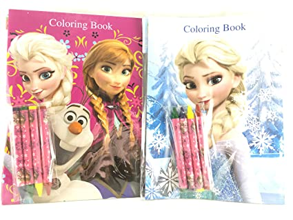 Amazon.com: Party Favors Disney Frozen Coloring Book ...