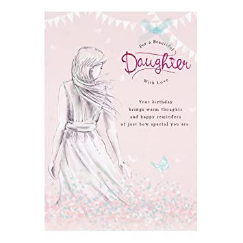 Image Unavailable Not Available For Color Hallmark Nice Verse Luxury Daughter Birthday Card