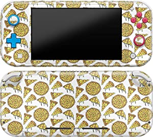 Cavka Vinyl Decal Skin Compatible with Console Switch Lite (2019) Stickers with Design Tasty Pizza Pattern Cute Full Set Protection Durable Protector Print Girls Food Faceplate Hot Wrap Yummy Cover