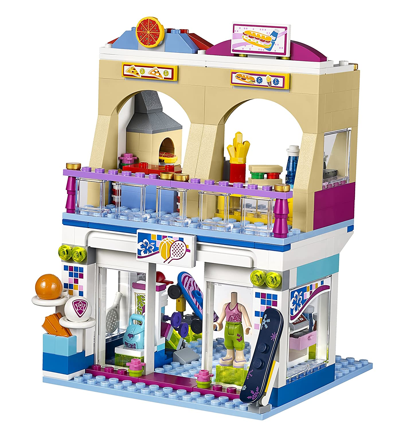 Lego friends heartlake grand hotel 41101 lego friends uk - Amazon Com Lego Friends Heartlake Shopping Mall Building Set 41058 Toys Games