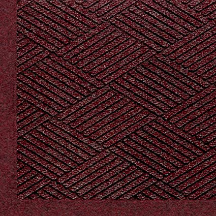 Khaki 6 Length x 4 Width M+A Matting 2297 Waterhog ECO Elite PET Polyester Entrance Indoor//Outdoor Floor Mat