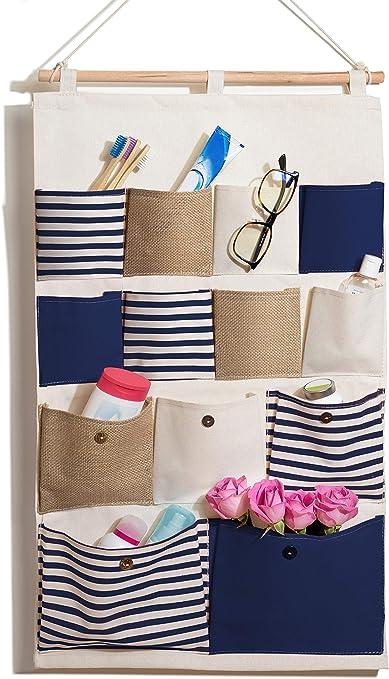 bellendo hängeorganizer mur, porte | multifonctions plastique organiseur  mural salle de bain rangement suspendu enfant | 13 Sac, de choix de couleur  ...