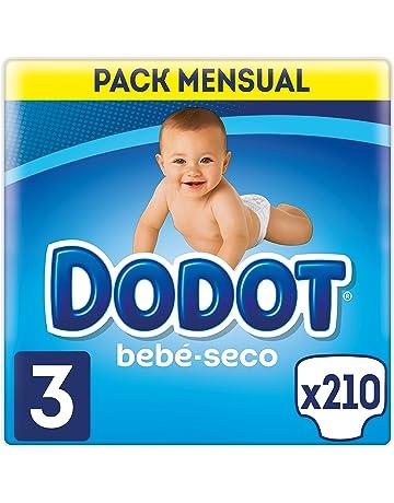 Dodot Bebé-Seco - Pañales Talla 3 Con Canales De Aire, 6-10