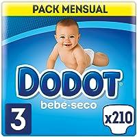 Dodot Bebé-Seco - Pañales para bebé con canales