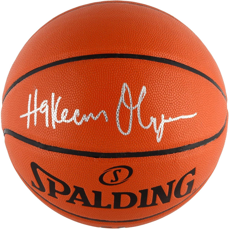 Houston Rockets Hakeem Olajuwon Autographed Spalding Indoor/Outdoor Basketball - Fanatics Authentic Certified