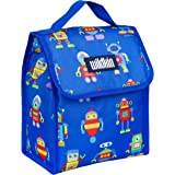 Wildkin Kids Insulated Lunch Bag for Boys and Girls, Lunch Bags is Ideal Size for Packing Hot or Cold Snacks for School…