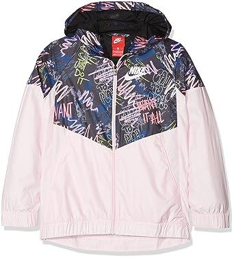 0e4197898 Nike Sportswear Windrunner Chaqueta, Niñas, Multicolor (Arctic Pink/White),  M: Amazon.es: Ropa y accesorios