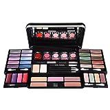 Bri conti - Maquillaje paleta set travel case kit de cosméticos de belleza organizador briconti 53 piezas