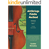 AltStrings Fiddle Method for Viola, Second Edition, Book 1: with Audio book cover
