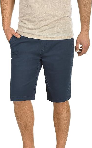 TALLA XL. !Solid Lamego Chino Pantalón Corto Bermuda Pantalones De Tela para Hombre Elástico Regular-Fit
