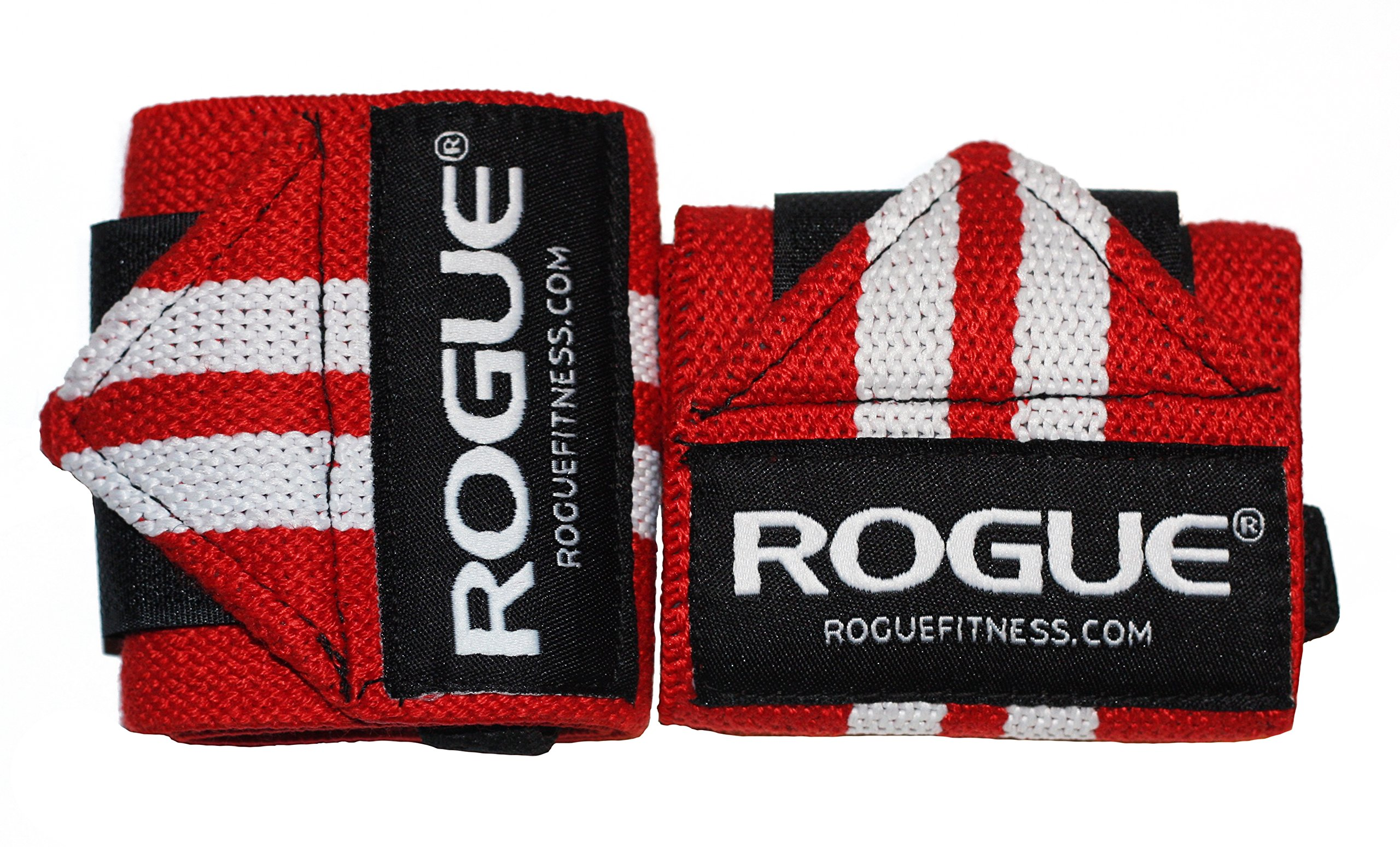 Rogue Fitness Wrist Wraps   Available in Multiple Colors (Red, 24'')