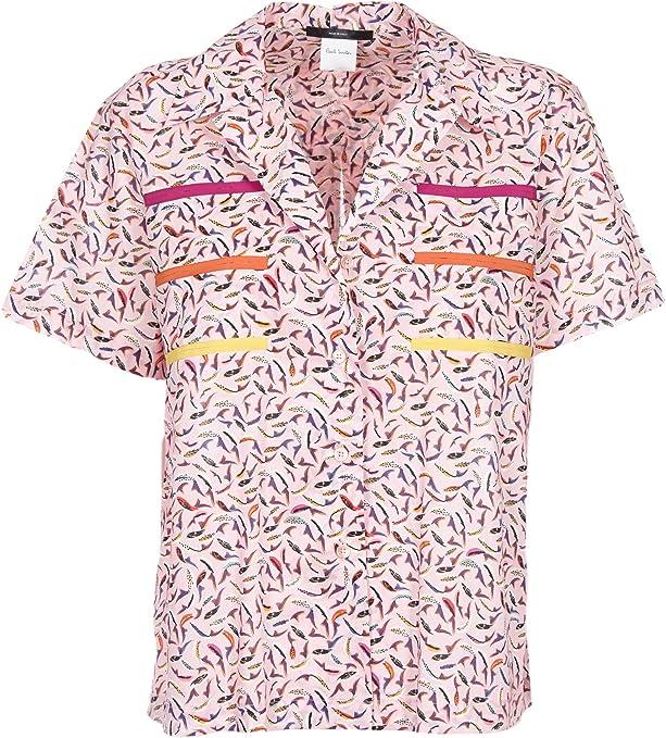 Paul Smith Camisas - Para Mujer Rosa Talla de La Marca 38: Amazon.es: Ropa y accesorios