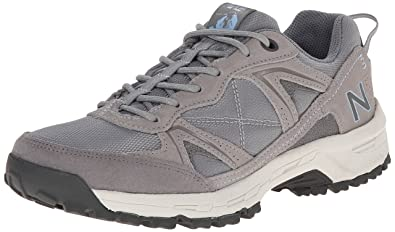 New Balance Women's WW659 Country Walking Shoe,Grey/Blue,5 ...