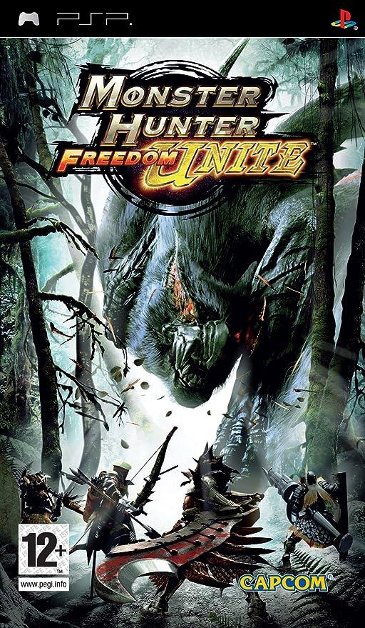 Monster Hunter Freedom Unite (PSP) [Importación inglesa]: Amazon.es: Videojuegos