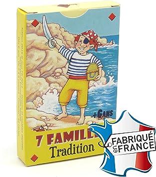 """Très Jeu de 42 cartes : 7 familles """"Tradition"""": Amazon.fr: Jeux et Jouets FE99"""
