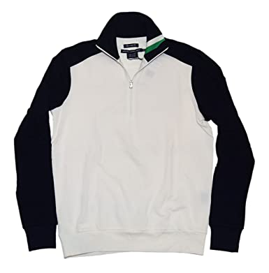 RALPH LAUREN Polo Golf Womens Pullover Shirt Jacket White Navy Green Small