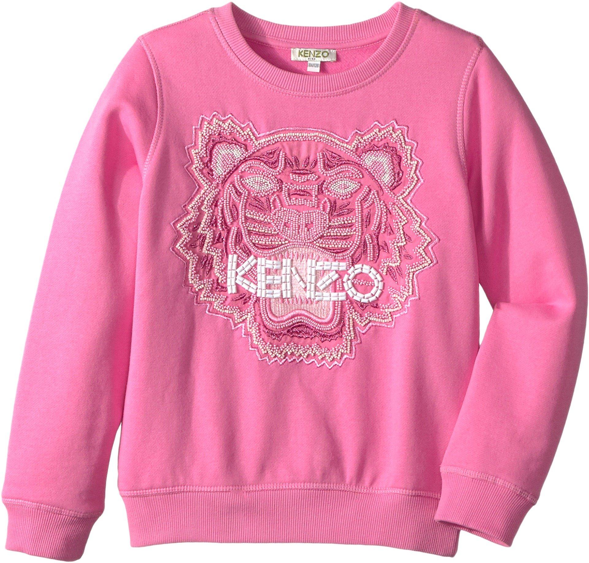 Kenzo Kids Girl's Tiger Sweatshirt (Big Kids) Bubble 10