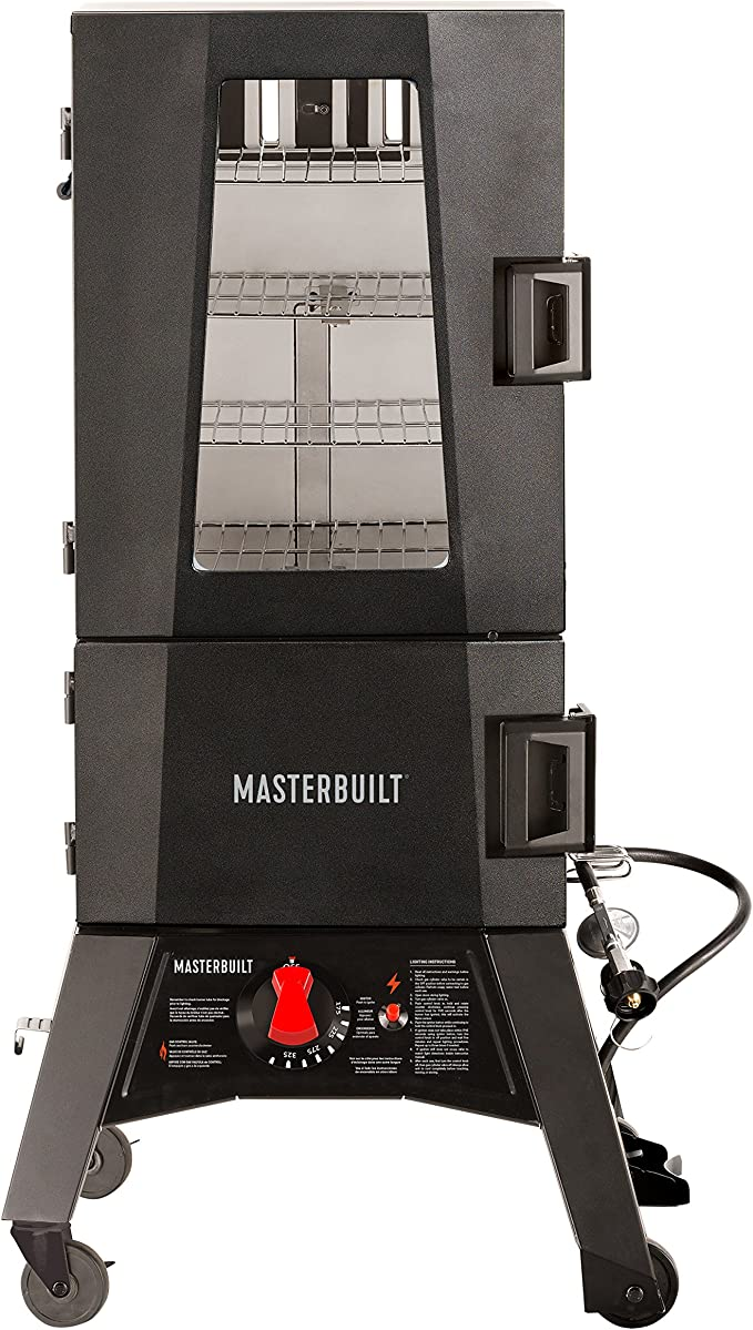 Masterbuilt MB20050716 Mps 330g Propane Smoker - Easy to Moderate