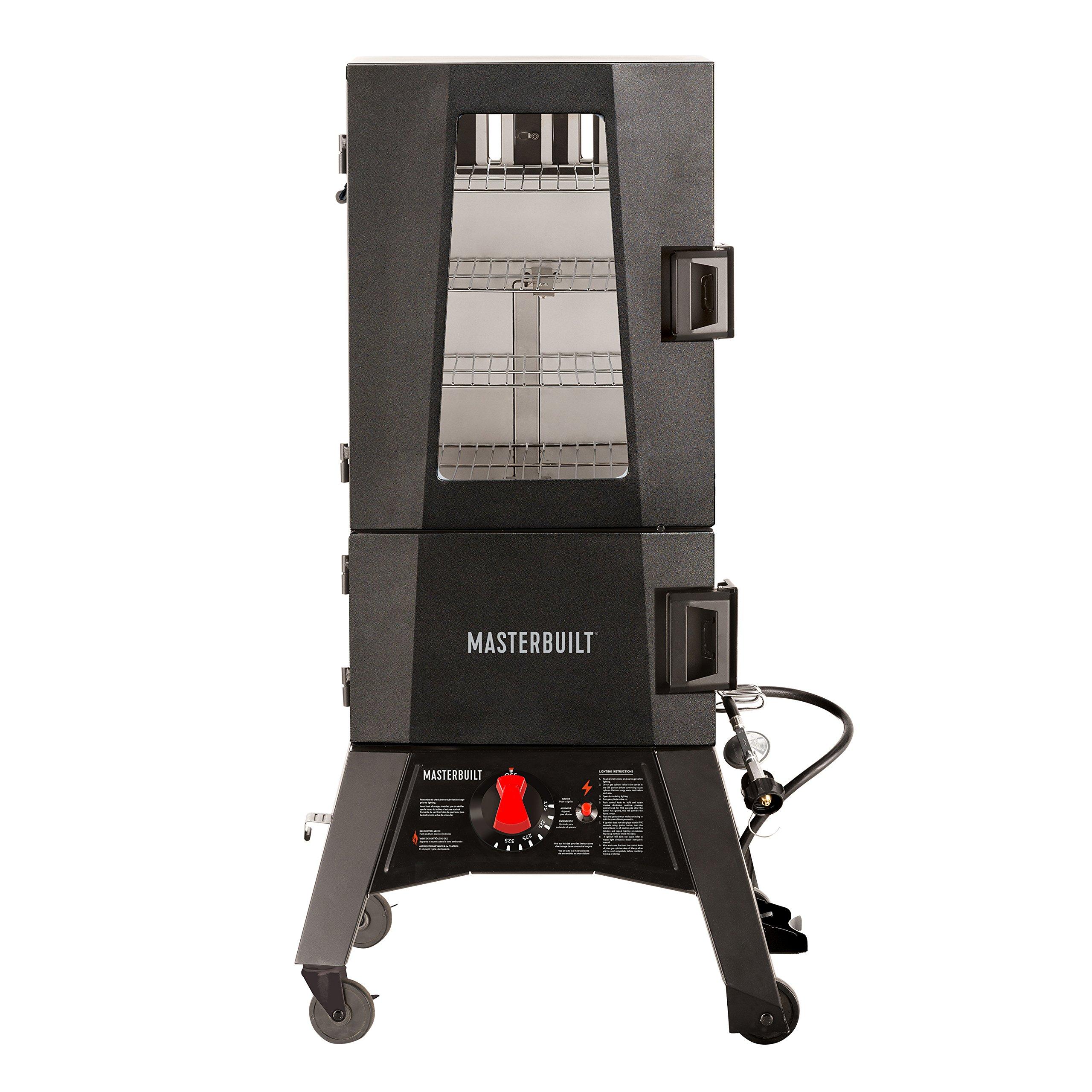 Masterbuilt MB20050716 Mps 330g Thermotemp Propane Smoker, Black by Masterbuilt