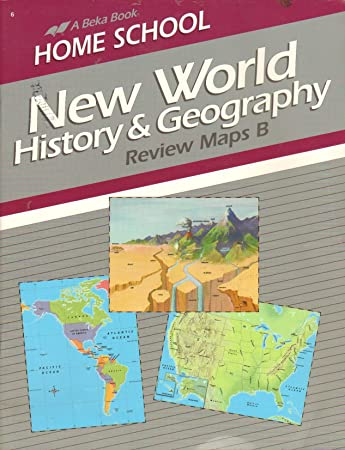 Amazon new world history and geography review maps b a beka new world history and geography review maps b a beka book gumiabroncs Gallery