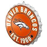 Denver Broncos 2016 Bottle Cap Wall Sign