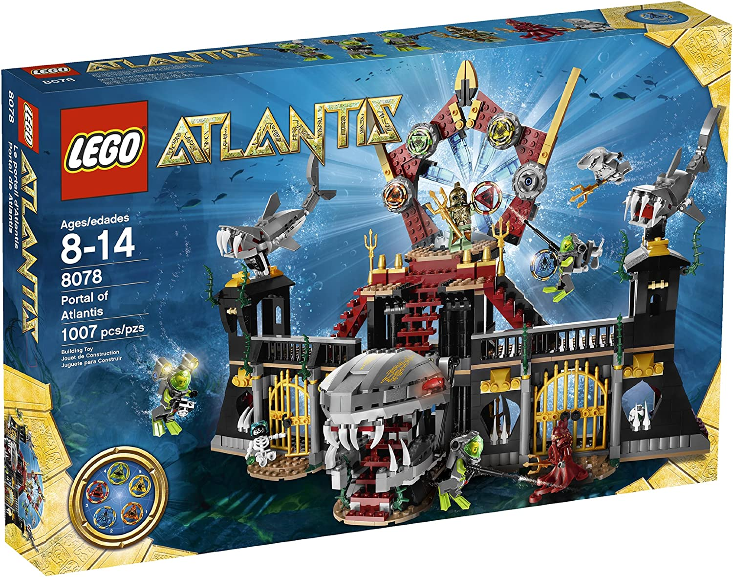 Top 9 Best LEGO Atlantis Sets Reviews in 2020 5