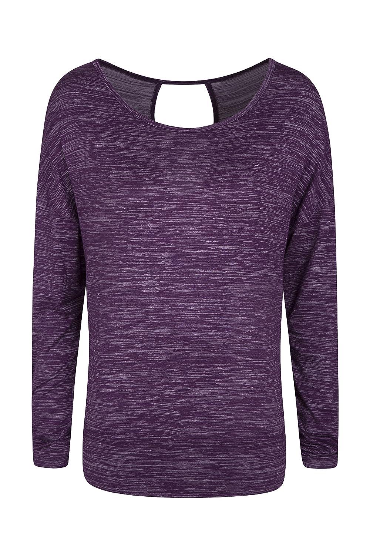 Mountain Warehouse Navasana Wrap Womens Tshirt Ladies Summer Tee 025479042003